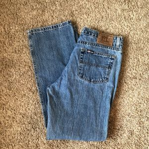 Vintage Ralph Lauren boot cut jeans. Ladies 12/30
